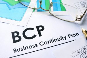 business continuity plan on paper